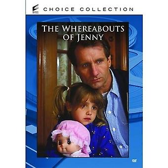 Whereabouts of Jenny [DVD] USA import