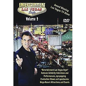 Entertainment Las Vegas stil 2 [DVD] USA importerer