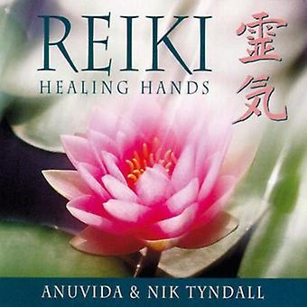 Anuvida/Tyndall - Reiki Healing hænder [CD] USA import