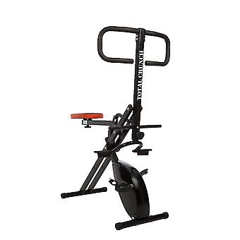 Total Crunch Evolution Fitness Machine with Exercise Bike