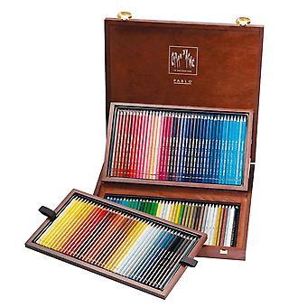 Caran d ' Ache Pablo aus Holz Box 120 Künstler Qualität Farbstifte