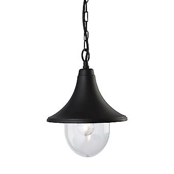 Firstlight Traditional Black Porch Hanging Light