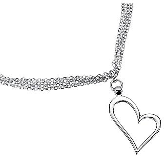 925 Silver Crystal Necklace