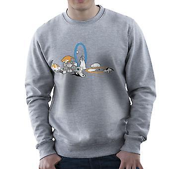 Cats Of Science Men's Sweatshirt