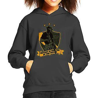 History Writer Call Of Duty Kid's Hooded Sweatshirt