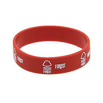 Nottingham Forest Silicone Wristband