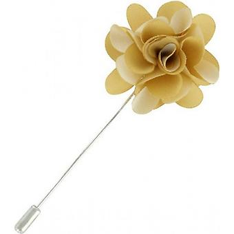 Michelsons of London Flower Lapel Pin - Gold