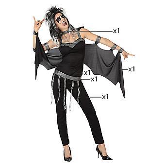 Kvinnor kostymer Rocker dam kostym