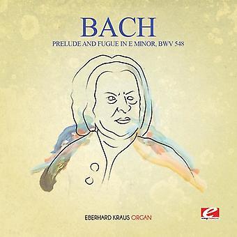 JS Bach - forspill & fuge i E mindre Bwv 548 [DVD] USA import