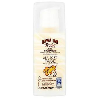 Hawaiian Tropic Silk hydration air soft face sun lotion 50 ml