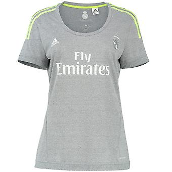 2015-2016 real Madrid Adidas Womens camisa fora