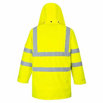 Portwest - Hi-Vis Safety Workwear 7-in-1 Traffic Workwear Jacket