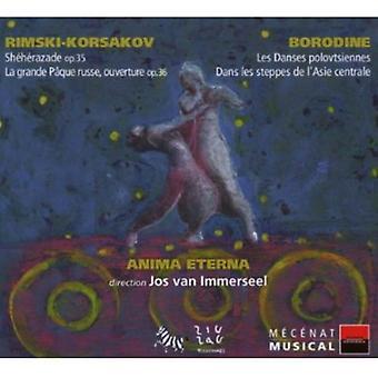 N. Rimskij-Korsakov-Jos Van Immerseel Dirige Rimski-Korsakov & Borodine [CD] USA import