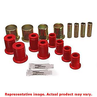 Energy Suspension Control Arm Bushing Set 3.3119R Red Front-Upper Fits:CHEVROLE