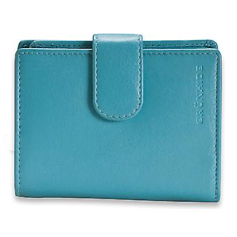 Brunhide Real Leather Womens Trifold Zip Purse Wallet Ladies Genuine 204-300