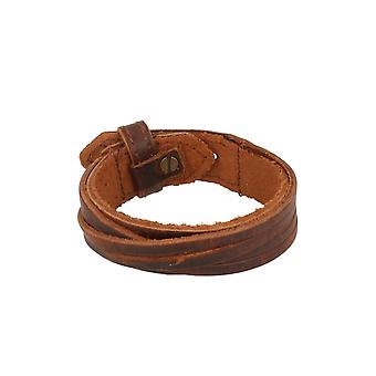 Baxter jewelry London leather strap dark brown jewelry three holes total length 24.5 cm