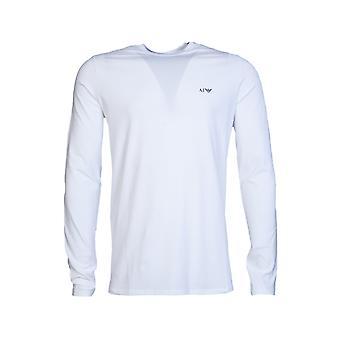 Armani Jeans wokół szyi długi rękaw T Shirt 8N6T81 6J0AZ