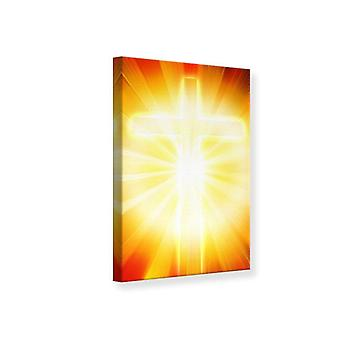 Canvas Print Holy Cross In The Light