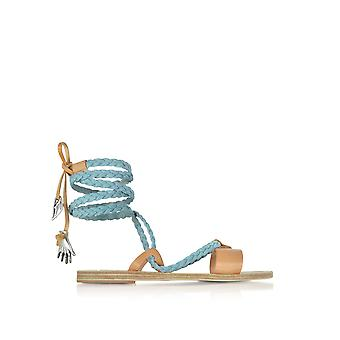 Ancient Greek Sandals Damen LACHESISLIGHTBLUE Hellblau Denim Sandalen