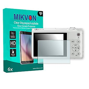 Samsung WB800F Screen Protector - Mikvon Clear (Retail Package with accessories)