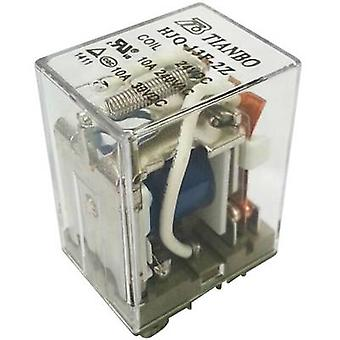 Plug-in relay 24 Vdc 15 A 2 change-overs Tianbo Electronics