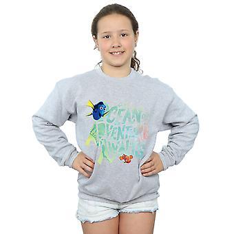 Disney Mädchen Finding Dory Ocean Adventure Sweatshirt