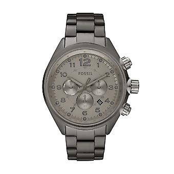 Fossil Mens Watch Flight Smoke Chronograph CH2802