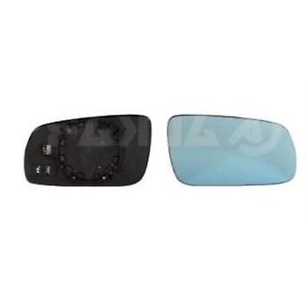 Right Mirror Glass (heated blue glass) & Holder For Audi A6 1994-1997