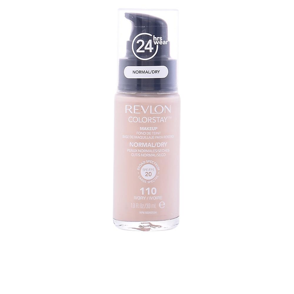 30 For Normal ivory Foundation dry Revlon Colorstay Ml Skin110 Women xdrBeQoCW