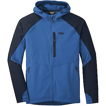 Research Mens Ferrosi Hooded Jacket Waterproof and Breathable Fabric