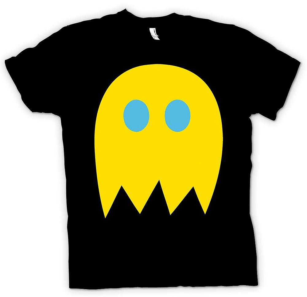 Mens T-shirt - Pacman Ghost - Retro Gamer