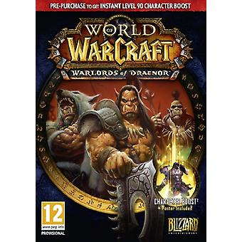 Värld av Warcraft Warlords av Draenor - förköp Box (PCMac)