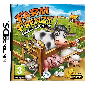 Farm Frenzy Tier Land (Nintendo DS)