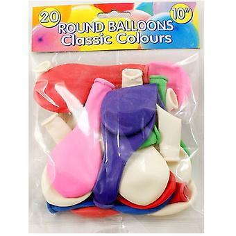 Peterkin 20 ronde ballonnen 10