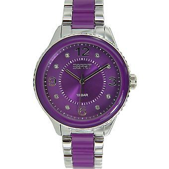 Esprit clock Marin Lucent Purple ES106192006