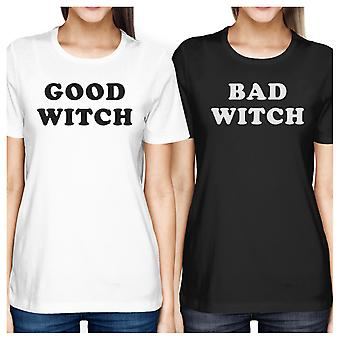 Good Witch Bad Witch Best Friend Matching Shirts Halloween Tshirts