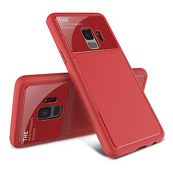 Design cover red TPU for Samsung Galaxy S9 G960F protective case cover pouch bag case new case