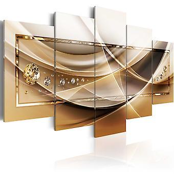 Canvas Print - Golden Frame