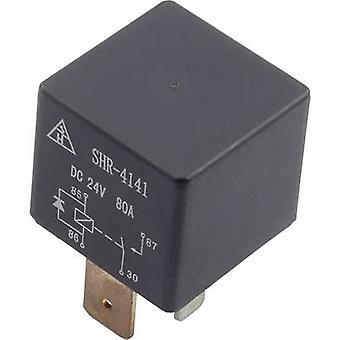 Automotive relay 24 Vdc 80 A 1 maker SHR-4141B SH