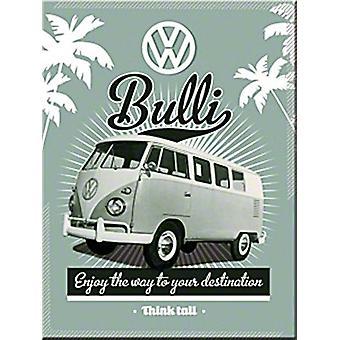 VW Bulli-Kühlschrank-Magnet
