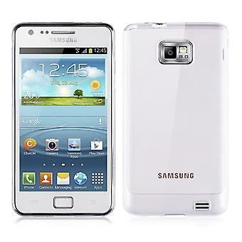 Samsung Galaxy S2 i9100 transparant gevaldekking van siliconen