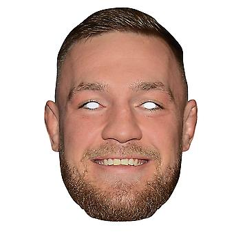Conor McGregor 2D Einzelkarte Party Gesichtsmaske