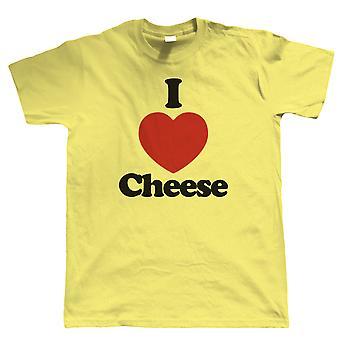 I Love Cheese, Mens T Shirt