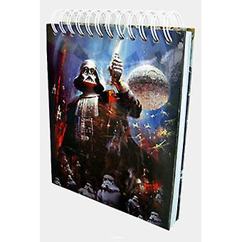 STAR WARS PERSONNAGES MUSICAUX NOTEBOOK B