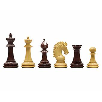 The Sheffield Knight Rosewood Chessmen 3.75 inch