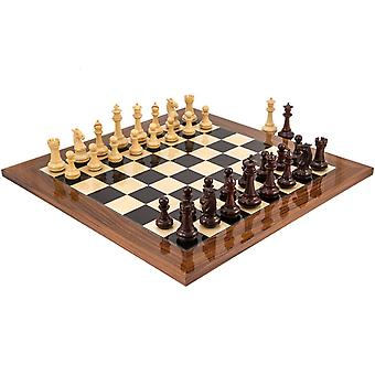 Templar Rosewood and Palisander Chess Set
