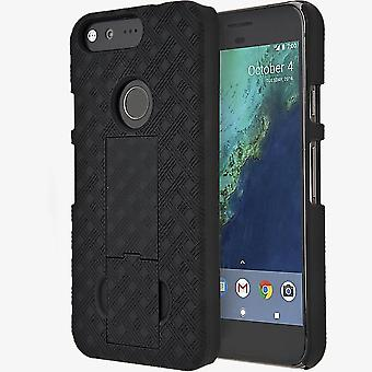 Verizon Kickstand Shell Case and Holster for Google Pixel 4.7