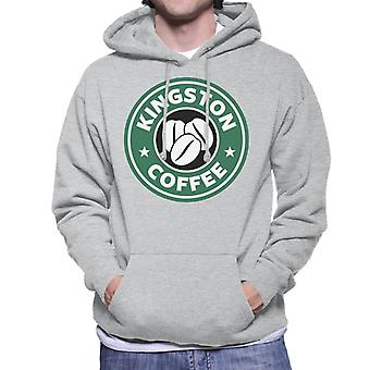 Kingston koffie Starbucks mannen Hooded Sweatshirt