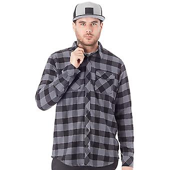 Metal Mulisha Charcoal OG Woven Long Sleeved Shirt