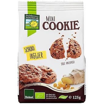 Bohlsener Mühle Mini Cookie Chocolate y Jengibre Bio 125 g (Diet , Biscuits)